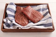 Stock Photo of uncooked beef steak