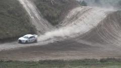 Car Race Sport Stock Footage