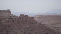 Kasbah ruins, Morocco Stock Footage
