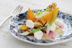 Beetroot salad appetizer Stock Photos