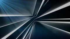 Random geometric lines abstract motion background Stock Footage