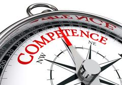 Competence conceptual compass Piirros