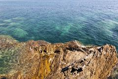 beach. close-up. Adriatic Sea - stock photo