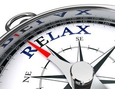 Stock Illustration of relax towards east