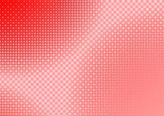 Red Squared Background - stock illustration