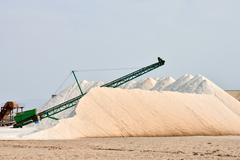 Salt Flat Field Kuvituskuvat