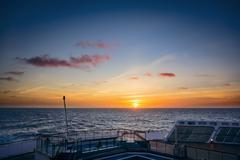 Atlantic sunset Stock Photos