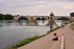 Stock Photo of Avignon in Provence
