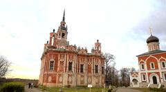 Novo-Nikolsky Cathedral. Mozhajskij Kremlin, Mozhaysk, Russia. Stock Footage