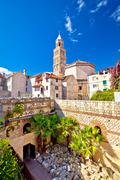 Split historic architecture of Diocletian's palace - stock photo