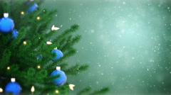 Christmas tree - stock footage