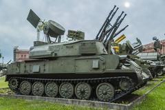 """ZSU-23-4 """"Shilka"""" - stock photo"""