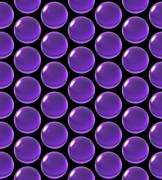 crystal ball array pattern purple - stock illustration