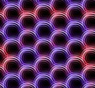 Stock Illustration of Ring lens Flare double color pattern