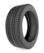 Winter tire isolated on the white background - stock illustration