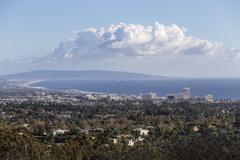 Santa Monica Bay California - stock photo