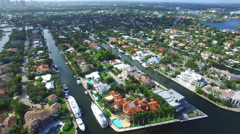 Aerial video Seven Isles Ft Lauderdale 2 - stock footage