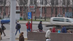 Ungraded: Subway in Minsk Stock Footage