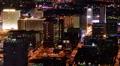 Las Vegas Cityscape 09 Time Lapse Downtown Pan R HD Footage