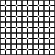Stock Illustration of Monochrome seamless pattern