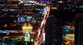 Las Vegas Cityscape 41 Time Lapse Loop HD Footage