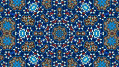 Background Ornament Kaleidoscope Stock Footage