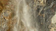 4K Yosemite Bridalveil Fall 14 - stock footage