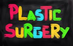 Plastic Surgery Concept - stock illustration