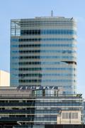 Tech Gate Tower Skyscraper In Vienna Kuvituskuvat