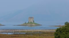 Castle Stalker Stock Footage