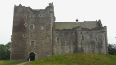 Doune Castle Stock Footage