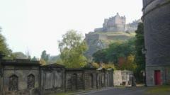 Edinburgh Castle Stock Footage