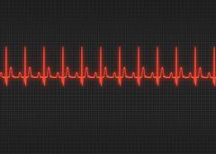 Electrocardiography Stock Illustration