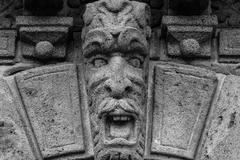 Baroque mask - stock photo