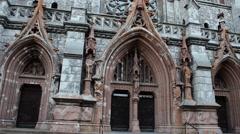 St. Nicholas Roman Catholic Cathedral in Kyiv, Ukraine Stock Footage