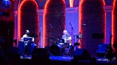 """The show """"The Jazz for Adults"""" with Alexey Kogan, Kiev, Ukraine. Stock Footage"""