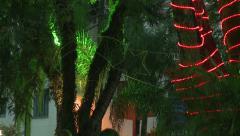 Christmas tree decor Stock Footage