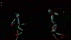 Light show Stock Footage