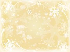 snowflakes  - stock illustration