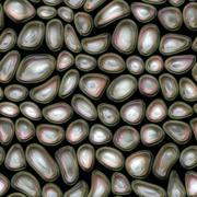 Stock Illustration of Plastic waves cells seamless texture