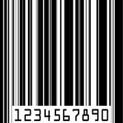 Stock Illustration of Abstract barcode strip