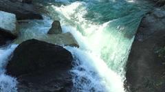Waterfall krimml austria Stock Footage