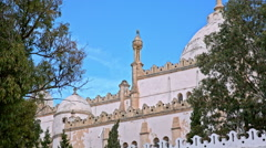 Ancient architecture of old Carthage church Stock Footage