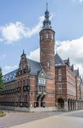 Stock Photo of Province house in the historical center of Groningen