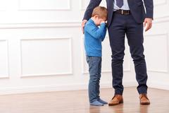I need going to work my son - stock photo