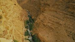 Kidron river valley 1 Stock Footage