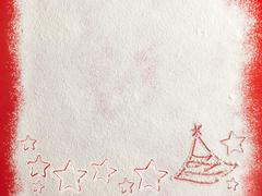 Snow background texture. Christmas card. Stock Photos