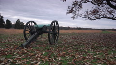 Canon in a Battlefield Stock Footage