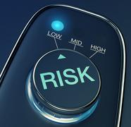 Stock Illustration of low risk concept