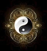 Symbol yin yang Stock Illustration